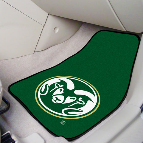 "Colorado State 2-pc Carpeted Car Mats 17""x27"""