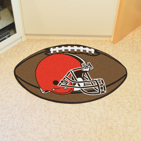 "NFL - Cleveland Browns Football Rug 20.5""x32.5"""