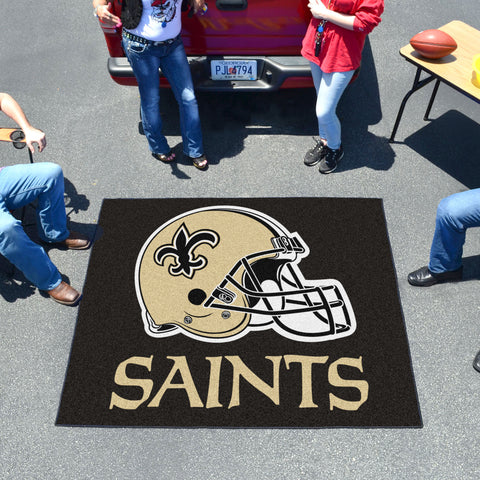 NFL - New Orleans Saints Tailgater Rug 5'x6'