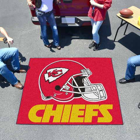 NFL - Kansas City Chiefs Tailgater Rug 5'x6'