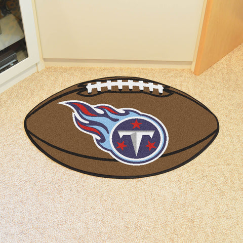 "NFL - Tennessee Titans Football Rug 20.5""x32.5"""