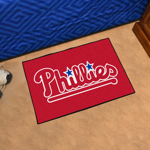 "MLB - Philadelphia Phillies Starter Rug 19""x30"""