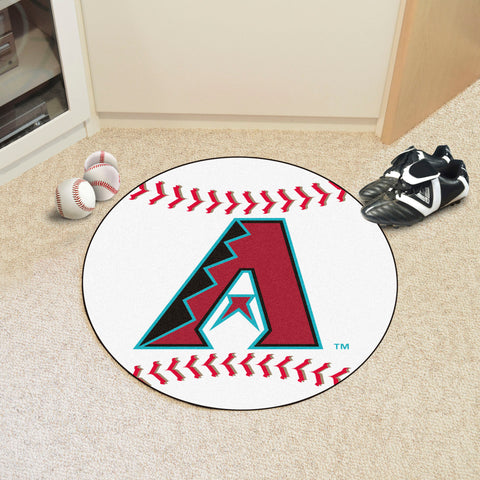 "MLB - Arizona Diamondbacks Baseball Mat 27"" diameter"