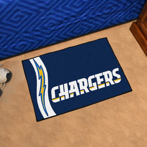 "NFL - Los Angeles Chargers Uniform Starter Rug 19""x30"""