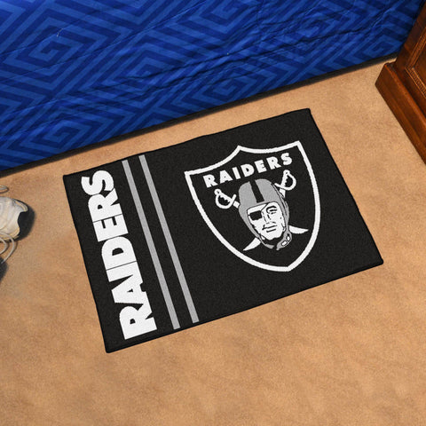 "NFL - Oakland Raiders Uniform Starter Rug 19""x30"""