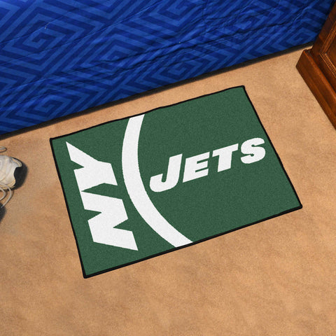 "NFL - New York Jets Uniform Starter Rug 19""x30"""