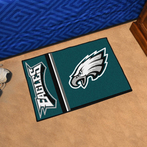 eagles area rug mat quick snap starter sharmikes collections philadelphia