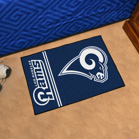 "NFL - Los Angeles Rams Uniform Starter Rug 19""x30"""