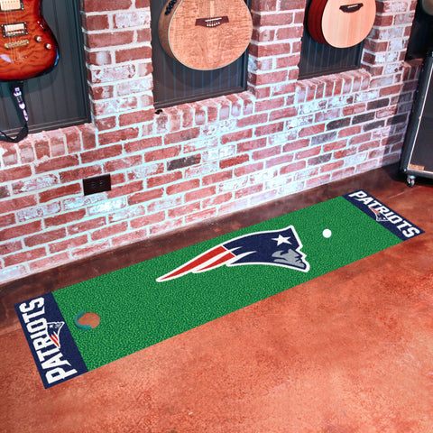 "NFL - New England Patriots Putting Green Runner 18""x72"""