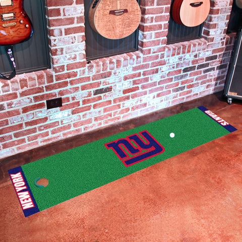 "NFL - New York Giants Putting Green Runner 18""x72"""