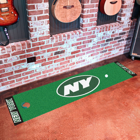 "NFL - New York Jets Putting Green Runner 18""x72"""
