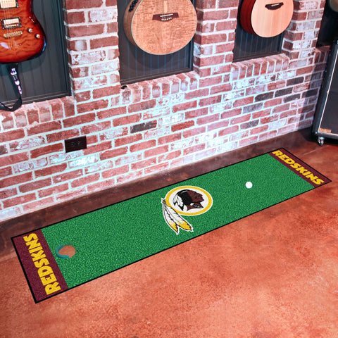 "NFL - Washington Redskins Putting Green Runner 18""x72"""