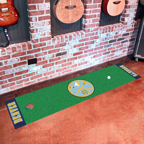 "NBA - Denver Nuggets Putting Green Runner 18""x72"""