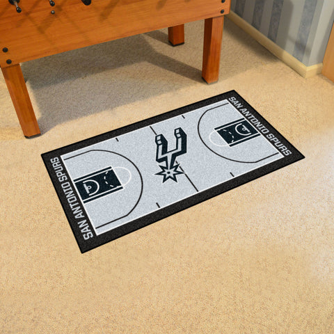 NBA - San Antonio Spurs Large Court Runner 29.5x54