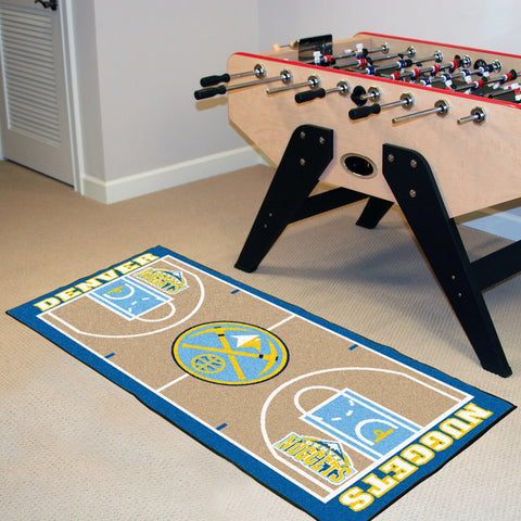 NBA - Denver Nuggets NBA Court Runner 24x44