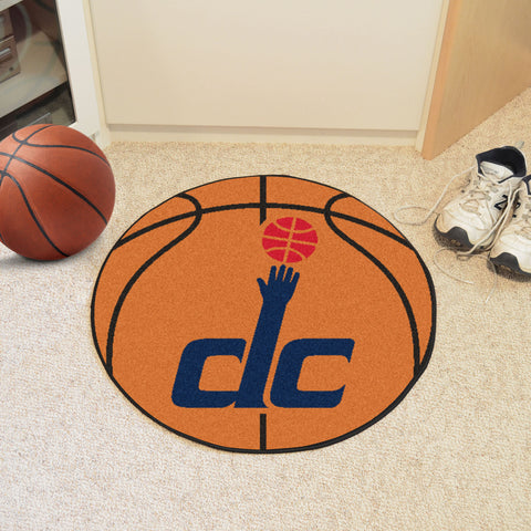 "NBA - Washington Wizards Basketball Mat 27"" diameter"