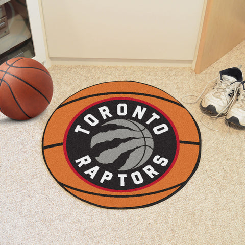"NBA - Toronto Raptors Basketball Mat 27"" diameter"