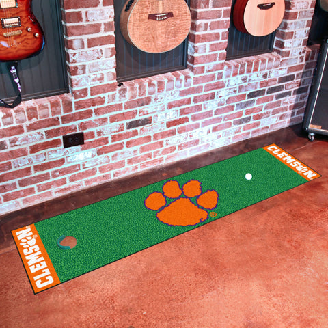 "Clemson Putting Green Mat 18""x72"""