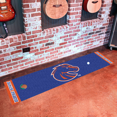 "Boise State Putting Green Mat 18""x72"""