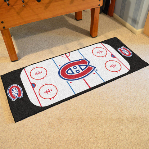 "NHL - Montreal Canadiens Rink Runner 30""x72"""