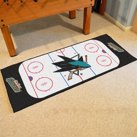 "NHL - San Jose Sharks Rink Runner 30""x72"""