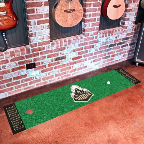 "Purdue 'Train' Putting Green Mat 18""x72"""