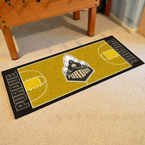 "Purdue 'Train' Basketball Court Runner 30""x72"""