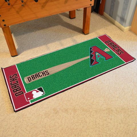 "MLB - Arizona Diamondbacks Baseball Runner 30""x72"""