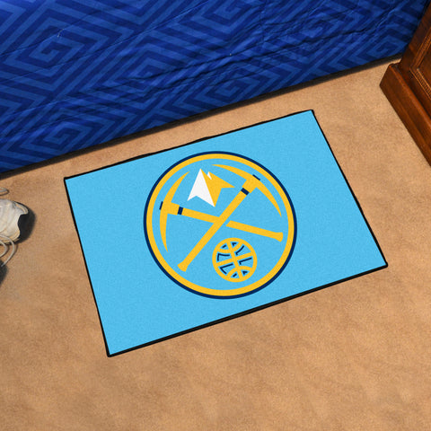 "NBA - Denver Nuggets Starter Rug 19"" x 30"""