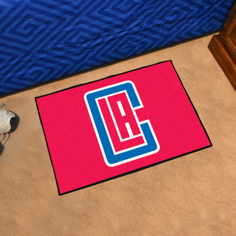 "NBA - Los Angeles Clippers Starter Rug 19"" x 30"""