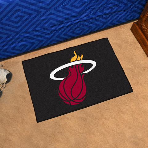 "NBA - Miami Heat Starter Rug 19"" x 30"""
