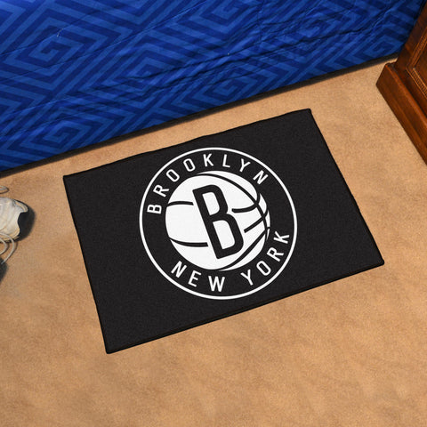 "NBA - Brooklyn Nets Starter Rug 19"" x 30"""