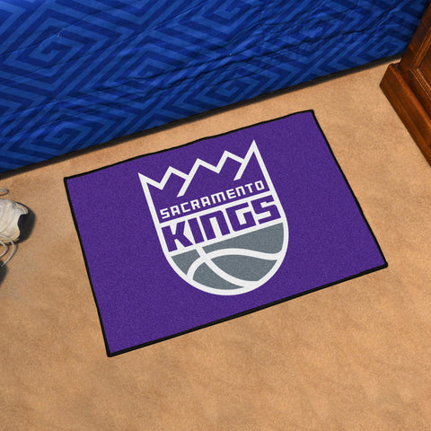"NBA - Sacramento Kings Starter Rug 19"" x 30"""