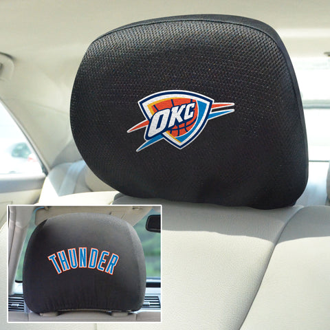 "NBA - Oklahoma City Thunder Head Rest Cover 10""x13"""