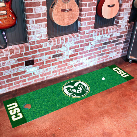 "Colorado State Putting Green Mat 18""x72"""