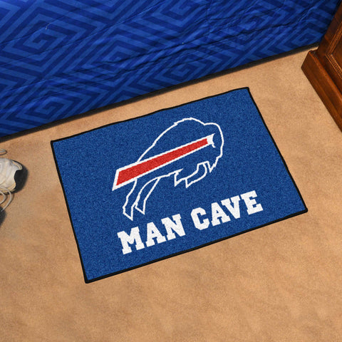 "NFL - Buffalo Bills Man Cave Starter Rug 19""x30"""