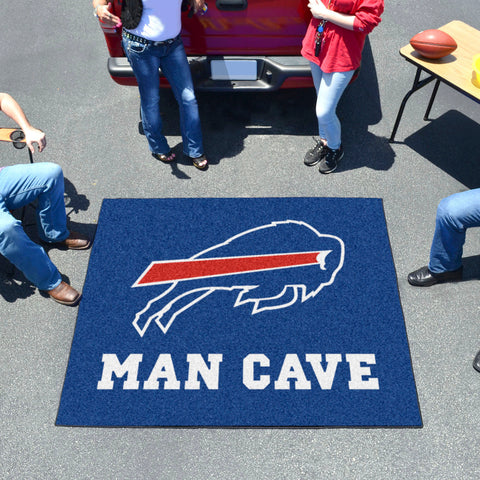 NFL - Buffalo Bills Man Cave Tailgater Rug 5'x6'