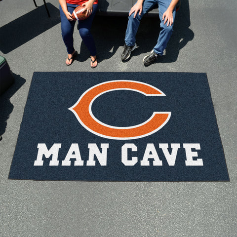 NFL - Chicago Bears Man Cave UltiMat 5'x8' Rug
