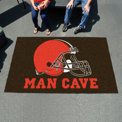 NFL - Cleveland Browns Man Cave UltiMat 5'x8' Rug