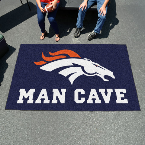 NFL - Denver Broncos Man Cave UltiMat 5'x8' Rug