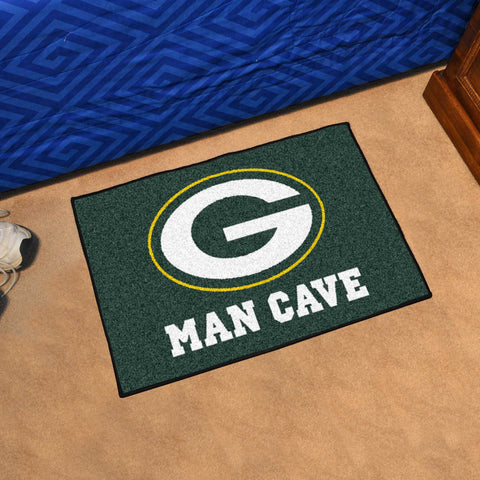 "NFL - Green Bay Packers Man Cave Starter Rug 19""x30"""