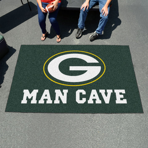 NFL - Green Bay Packers Man Cave UltiMat 5'x8' Rug