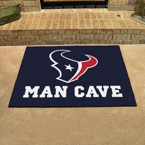 "NFL - Houston Texans Man Cave All-Star Mat 33.75""x42.5"""