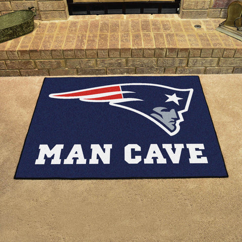 "NFL - New England Patriots Man Cave All-Star Mat 33.75""x42.5"""