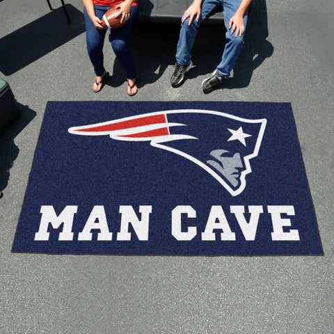 NFL - New England Patriots Man Cave UltiMat 5'x8' Rug