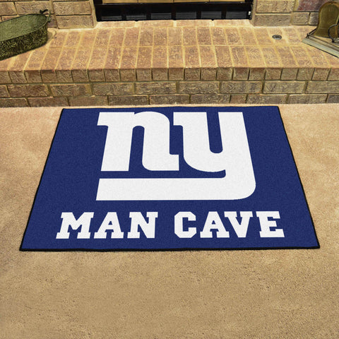 "NFL - New York Giants Man Cave All-Star Mat 33.75""x42.5"""