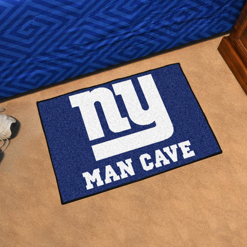 "NFL - New York Giants Man Cave Starter Rug 19""x30"""