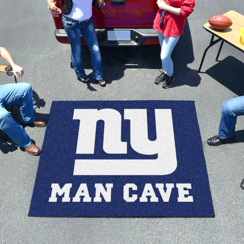 NFL - New York Giants Man Cave Tailgater Rug 5'x6'