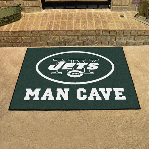 "NFL - New York Jets Man Cave All-Star Mat 33.75""x42.5"""