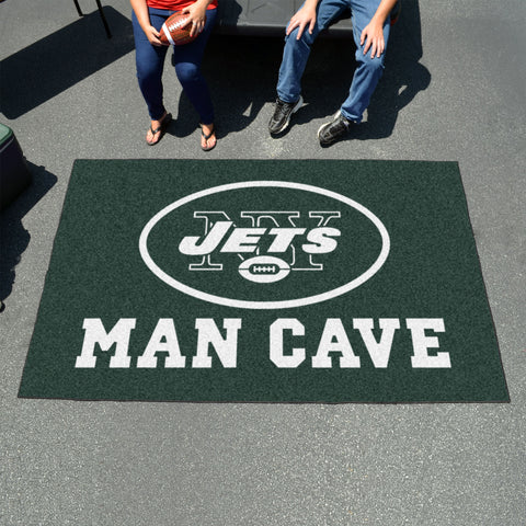 NFL - New York Jets Man Cave UltiMat 5'x8' Rug